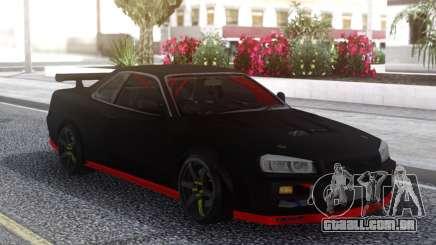 Nissan Skyline R34 Drift Sport para GTA San Andreas