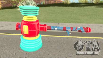 Rules of Survival Rainbow Hammer para GTA San Andreas