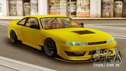 Nissan Silvia S14 Kouki Yellow para GTA San Andreas