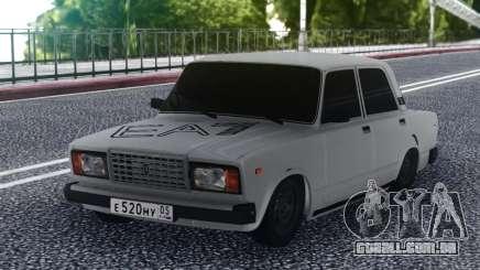 2107 Baixo Branco para GTA San Andreas