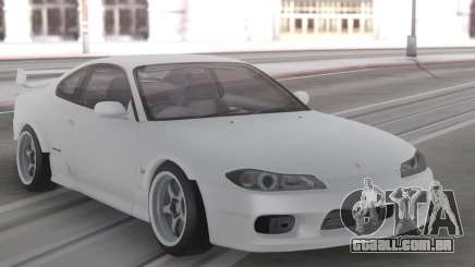 Nissan Silvia S15 White Stock para GTA San Andreas