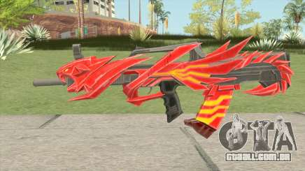QBZ Iron Tiger para GTA San Andreas
