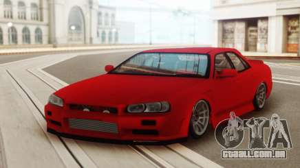 Nissan Skyline ER 34 Red para GTA San Andreas