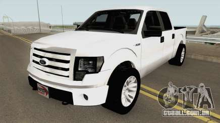 Ford F150 Police Unmarked para GTA San Andreas