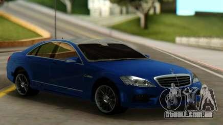 Mersedes-Benz W221 WALD BLACK BISON para GTA San Andreas