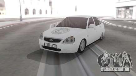 Lada Priora De Vinil para GTA San Andreas