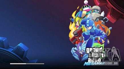 Mega Man Loading Screen para GTA San Andreas