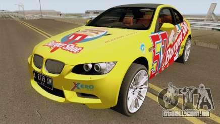 BMW M3 E92 Burgershot 2007 para GTA San Andreas