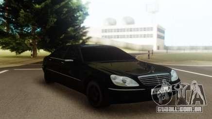 Mercedes-Benz W220 S600 para GTA San Andreas