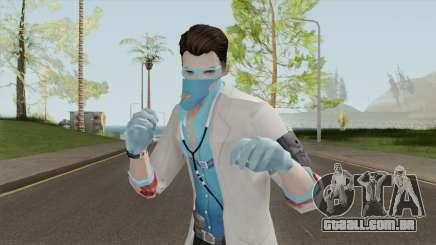 ROS Mad Doctor Skin para GTA San Andreas