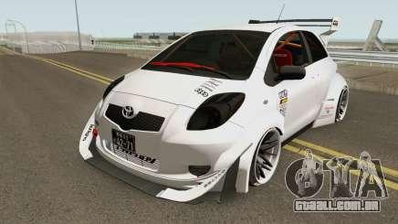 Toyota Yaris Burnok Speed para GTA San Andreas