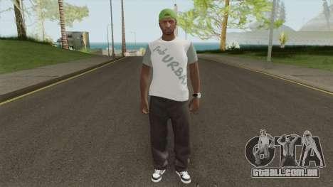CJ GTA Online Style para GTA San Andreas