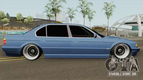 BMW E38 750iL SlowDesign 1999 para GTA San Andreas