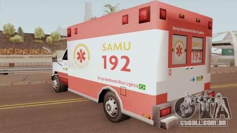 Ambulance TCGTABR para GTA San Andreas