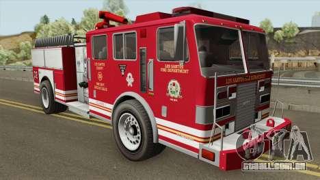 MTL Firetruck GTA V para GTA San Andreas