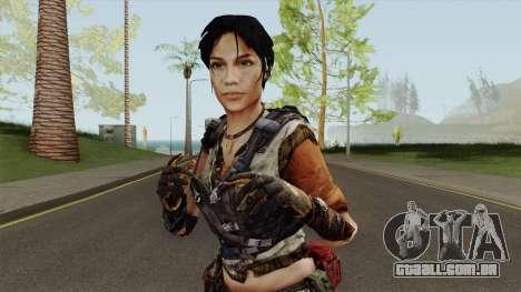 Rianna From Homefront para GTA San Andreas