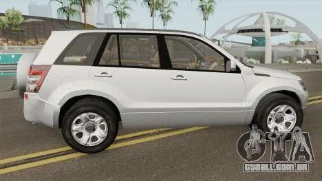 Suzuki Grand Vitara 2008 (US-Spec) para GTA San Andreas