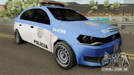 Volkswagen Voyage G6 Policia RJ para GTA San Andreas