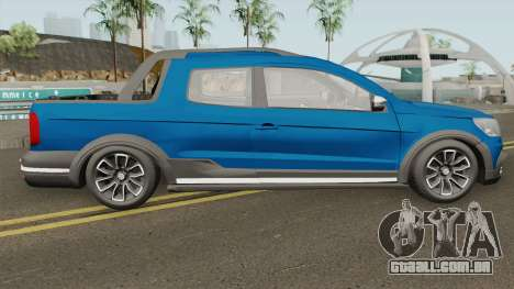 Volkswagen Saveiro Cross Pickup Low para GTA San Andreas