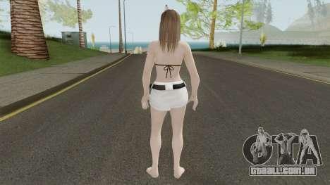 Hitomi Hot Getaway Costume V3 para GTA San Andreas