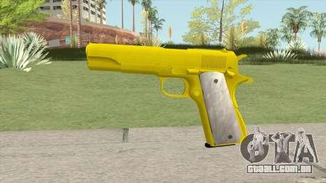 COLT M1911 Gold para GTA San Andreas
