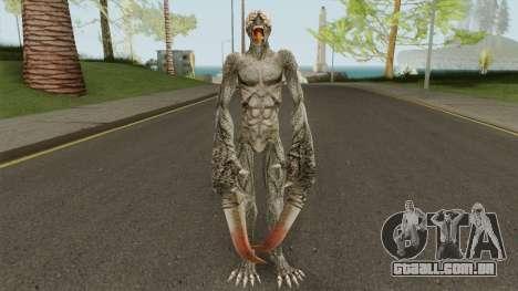 Licker V2 (Resident Evil: The Darkside Chronic) para GTA San Andreas