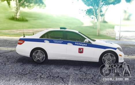 Mercedes-Benz E63 W212 para GTA San Andreas