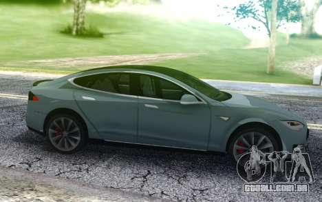Tesla Model-S P90D para GTA San Andreas