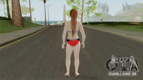 Kasumi Racing Car Girl para GTA San Andreas