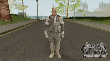 Officer The Zulu Squad (Spec Ops: The Line) para GTA San Andreas