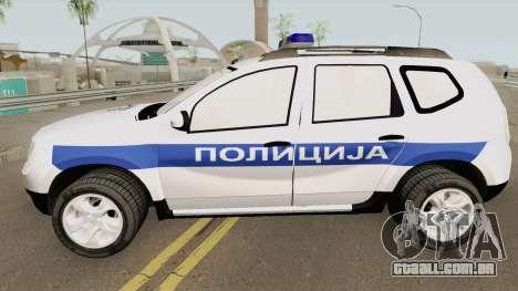 Dacia Duster Serbian Police para GTA San Andreas