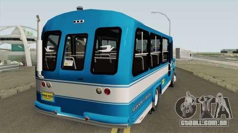 Dodge 300 Buseta para GTA San Andreas