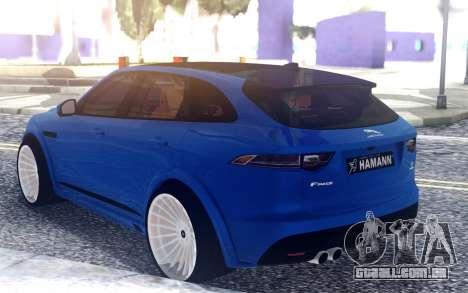 Jaguar F-Pace Hamann para GTA San Andreas