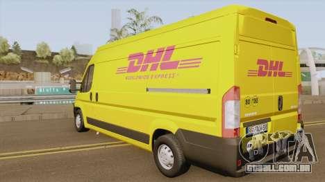 Peugeot Boxer DHL para GTA San Andreas