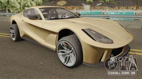 Grotti Itali GTO (812 Superfast Style) GTA V para GTA San Andreas