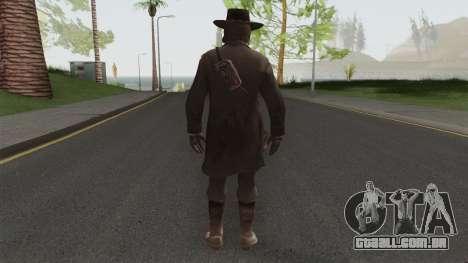 John Marston Deadly Assassin Outfit From RDR 2 para GTA San Andreas