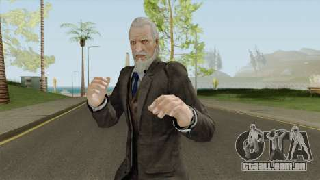 Morgan Lansdale From Resident Evil: Revelations para GTA San Andreas