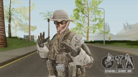 Skin 5 (Spec Ops: The Line - 33rd Infantry) para GTA San Andreas