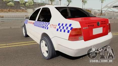 Volkswagen Bora Taxi Florianopolis para GTA San Andreas