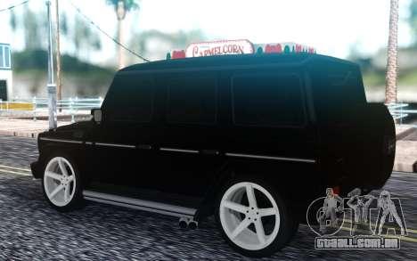 Mercedes-Benz G-class para GTA San Andreas