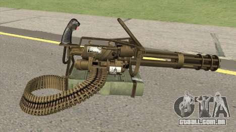 M-134 Minigun Desert Ops Camo para GTA San Andreas