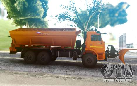 KAMAZ 43118 Combinado carro de estrada para GTA San Andreas