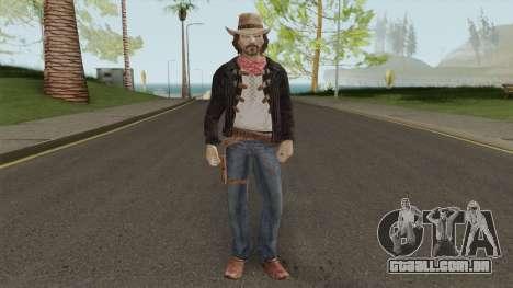 Thomas McCall From Call of Juarez para GTA San Andreas