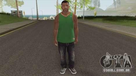 Franklin Casual GTA V para GTA San Andreas