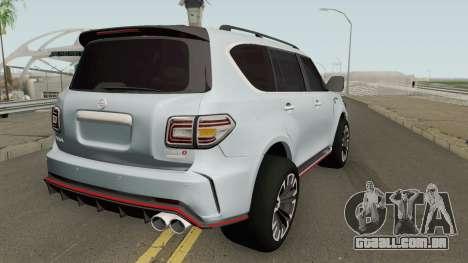 Nissan Patrol Nismo para GTA San Andreas
