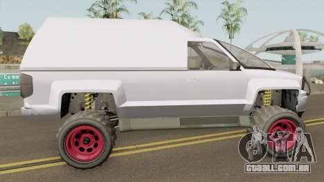 Declasse Brutus Cleaner GTA V para GTA San Andreas