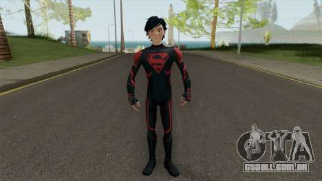 Superboy Legendary para GTA San Andreas