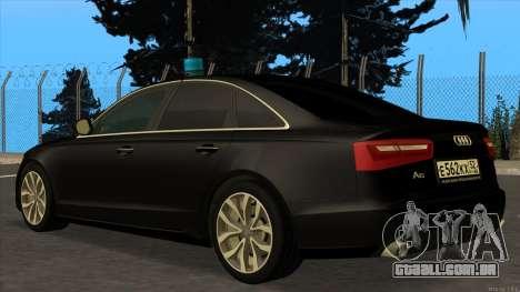 Audi A6 2015 FSB para GTA San Andreas