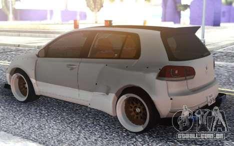 Golf GTI para GTA San Andreas