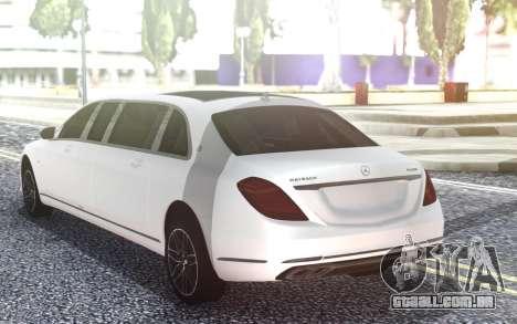 Mercedes-Benz S650 Pullman Maybach 2019 para GTA San Andreas